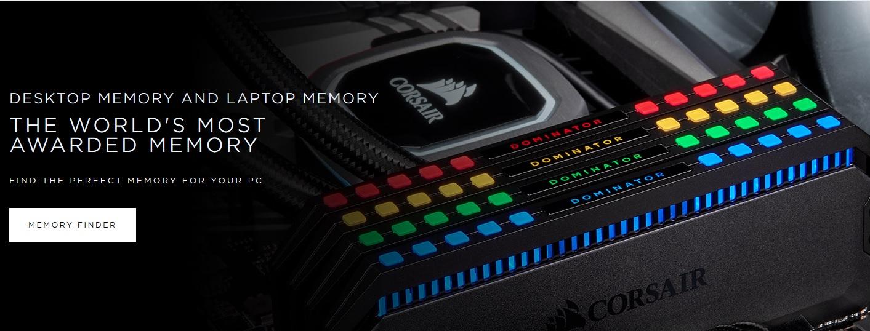 Ram Corsair Desktop Memory js Computer