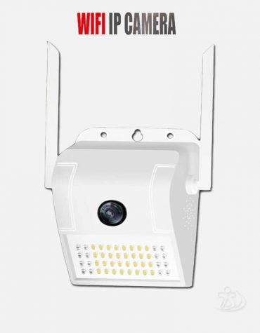 Wireless IP CC Camera with Self wifi Alarm,Light, Memory card Js computer Mymensingh, Computer Shop.