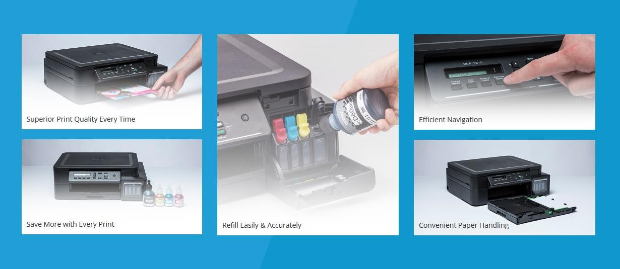 Printer Brother DCP-T310 Multifunction Ink Tank Printer js Computer, Mymensingh.