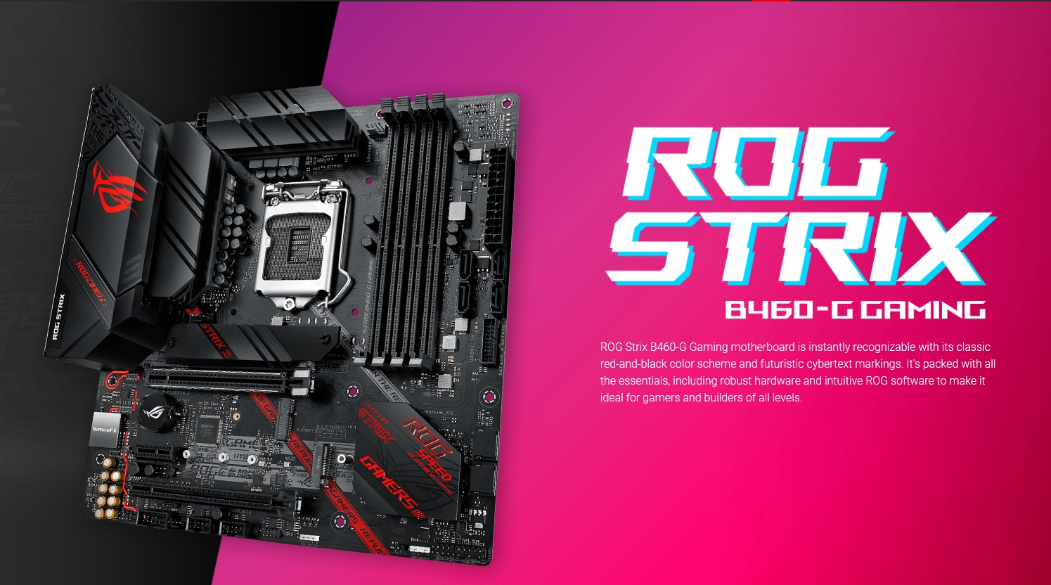 Asus ROG Strix B460G Gaming Mainboard