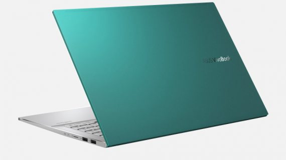 Asus Vivobook S15 S533EA Gaia Green Notebook-2
