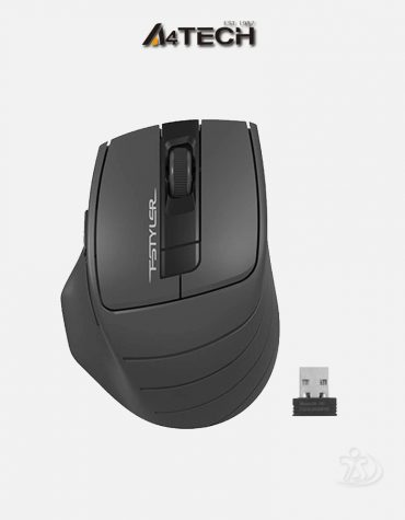 A4 Tech FG30 Black Grey Mouse