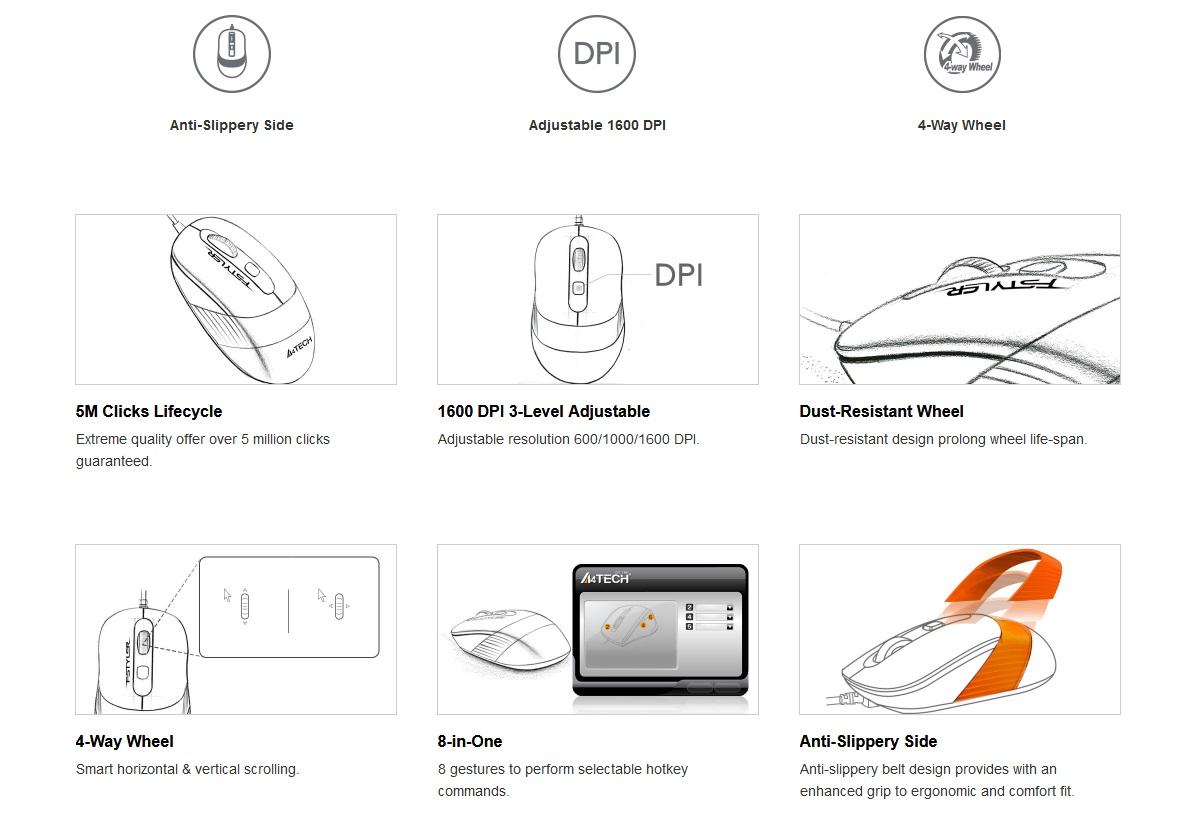 A4 tech FM10 Mouse