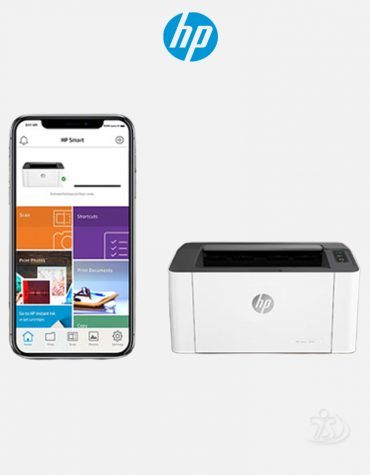HP Laser 107w Single Function Wireless Printer222
