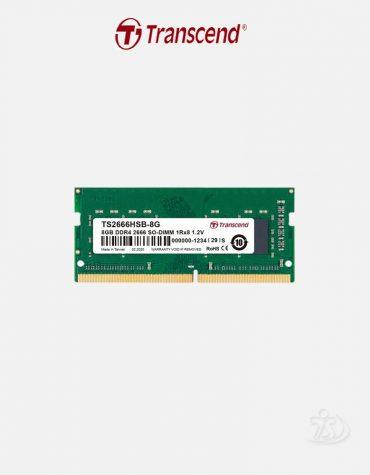Transcend 8 GB DDR4 2666MHz SO-DIMM Laptop RAM