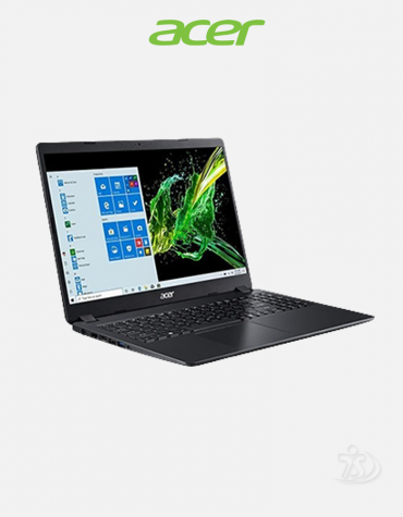 Acer Aspire A315-56 Intel® CoreTM i3-1005G1 Processor (1.20 GHz up to 3.40 GHz), 4GB, 1TB HDD, 15.6 Inch FHD (1920x1080) Display, Win 10, Shale Black Notebook 1