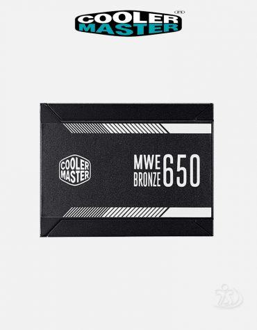 Cooler Master MWE Series™ - 650 Watt V2 80 Plus® Bronze Certified Power Supply 1