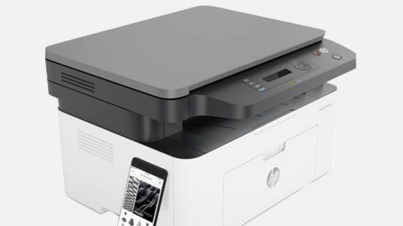 HP 135w Multifunction Mono Laser Printer-5